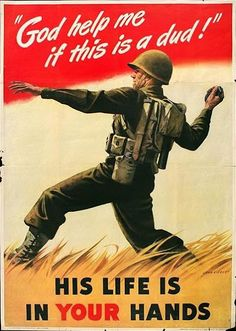 WWII Poster, #World War II, soldier