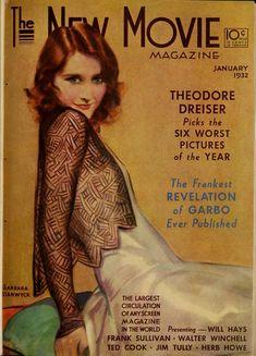Barbara Stanwyck - The New Movie Magazine (Jan-Jun 1932)
