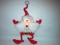 Project by Nati0703. Santa crochet pattern by Borisenko for LittleOwlsHut. #LittleOwlsHut, #Amigurumi, #CrohetPattern, #Crochet, #Crocheted,# Santa &Reindeers #Borisenko, #DIY, #Craft, #Pattern