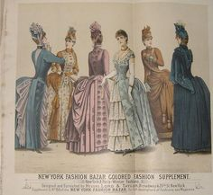 flaming angel story - 1880's New York Fashion Bazar
