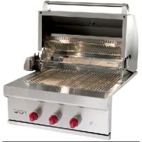 """Milcarsky's Appliance Centre' ~ Wolf 30"""" Built-in Natural Gas Grill Classic Stainless"""