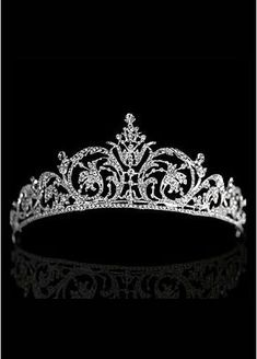 Wanting things isn't about practicality. It's about wanting it and I want a tiara. Wanting things isn't about practicality. It's about wanting it and I want a tiara. Royal Crowns, Tiaras And Crowns, Wedding Tiaras, Bridal Dresses Online, Princess Tiara, Princess Party, Disney Princess, Royal Jewelry, Circlet
