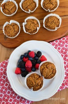 Slimming Eats Cinnamon Sweet Potato Oatmeal Muffins - gluten free, dairy free, Slimming World and Weight Watchers friendly Cupcake Recipes, Baby Food Recipes, Sweet Potato Cinnamon, Cinnamon Oatmeal, Slimming Eats, Slimming Recipes, Muffin Bread, Oatmeal Muffins, Create A Recipe