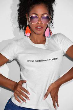 Black Lives Matter T-shirt Xmas Shirts, Tee Shirts, Funny Shirts, Cool T Shirts, Camouflage, Paris T-shirt, Geile T-shirts, Shirt Mockup, Boss Lady