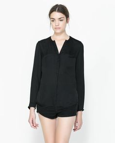 SHIRT WITH POCKETS - Shirts - TRF | ZARA United States