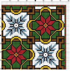 ru / Орнамент - From Greece with love - malyshkamu Cross Stitch Numbers, Cross Stitch Borders, Cross Stitch Designs, Cross Stitch Patterns, Knitting Patterns, Christmas Charts, Christmas Cross, Cross Stitch Pillow, Seed Bead Patterns