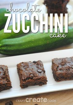 This chocolate zucch