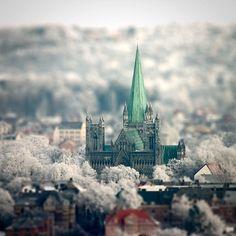 #Trondheim #Nidaros #Cathedral #Norway