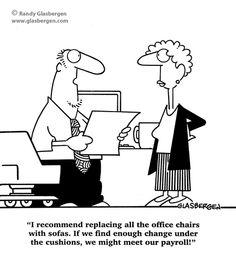 Accounting Cartoons: cartoons about billing, cartoons