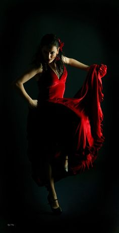 New dress dance latin flamenco dancers 43 ideas Foto Picture, Dancer Photography, Spanish Dancer, Ballroom Dancing, Lets Dance, Dance Pictures, Dance Art, Dance Dresses, Lady In Red
