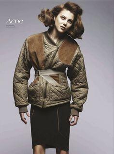 Brave New Look | Nicole Bentley #photography | Vogue Australia August 2012