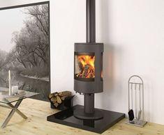 Dovre-Astroline-3CB-woodburning-stove Pedestal version