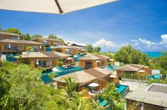 KC Over Water Villas - No other resort on Koh Samui can offer the unique and memorable experience of sleeping in a luxury villa over water. Built on stilts above a private infinity edge pool, this luxury collection of Bora Bora style villas has cosy cabin interiors with deluxe designer details.