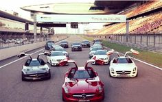 For the first time in history the AMG PRO-Training of the AMG Driving Academy China took part in Shanghai at the Shanghai International Circuit.
