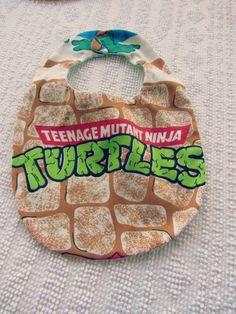 Hey, I found this really awesome Etsy listing at http://www.etsy.com/listing/114611503/teenage-mutant-ninja-turtle-baby-bib