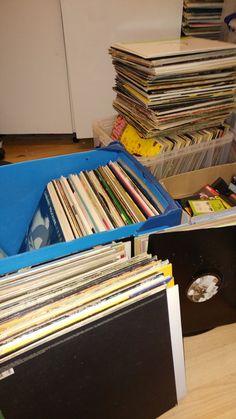 Back room of a record shop - bit like Wonkas Golden Ticket! Dj Kit, Golden Ticket, Farmer's Daughter, Vinyl Siding, Vinyl Records, Musicians, Studios, Hip Hop, Memories