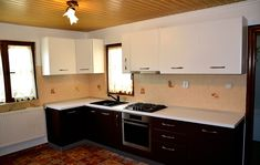 Kitchen Island, Kitchen Cabinets, Modern, Home Decor, Island Kitchen, Trendy Tree, Decoration Home, Room Decor, Cabinets