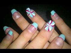 nail art sweet candy
