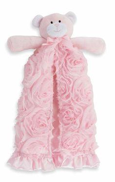 Pink Rosette Cuddler by Mud Pie