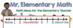 Mr Elementary Math provides math ideas, math strategies and math resources for K teachers. Math Strategies, Math Resources, Math Activities, Teaching Fractions, Teaching Math, Teaching Ideas, Creative Teaching, Math Teacher, Math Classroom