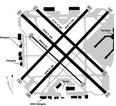 Chicago Midway International Airport Map