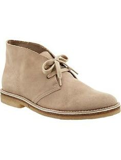 Mens Suede Desert Boots Sharp Dressed Man, Desert Boots, Dream Shoes, Suede Boots, Men Dress, Old Navy, Footwear, Wardrobe Ideas, Christmas