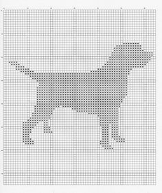 Labrador Dog Chart - Maybe on a cushion? Oh, John would just LOVE this.) - Tap the pin for the most adorable pawtastic fur baby apparel! You'll love the dog clothes and cat clothes! Knitting Squares, Knitting Charts, Knitting Patterns, Cross Stitch Charts, Cross Stitch Designs, Cross Stitch Patterns, Labrador Silhouette, Dog Silhouette, Black Labrador Dog