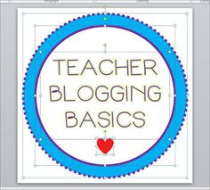 Teacher Blogging Basics: How to Make a Blog Button