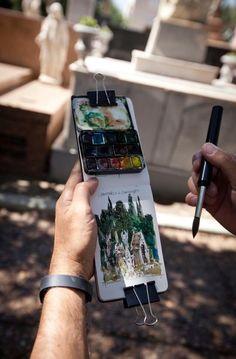 travel palette idea