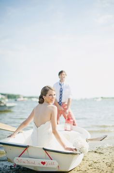 Photography by Trent Bailey Photography //Styling by Desiree Spinner Events  boat getaway