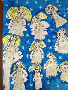 Christmas Angel Crafts, Christmas Art, Christmas Projects, Christmas Themes, Elf Drawings, Christmas Concert, Fairytale Art, Winter Art, Scandinavian Christmas