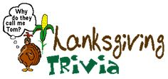 Thanksgiving Trivia Quiz Fun! 100 Questions by Brownielocks.