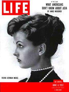 Life Magazine Cover Copyright 1951 Ursula Thiess