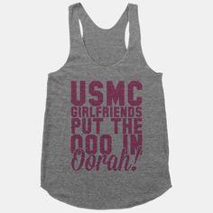 USMC Girlfriends put the ooo in Oorah!