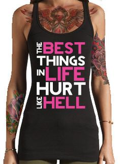"""Inked and Sexy - """"The best things in life hurt like hell"""""""