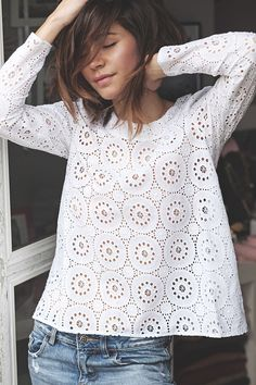 fresh and cool summer top.