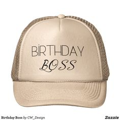 Birthday Boss