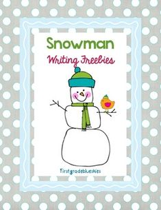 This is an assortment of Snowman themed writing activities..including a tree map, bubble map, Venn Diagram, labeling page, a sequence page, and more!