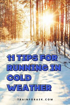 Unless you are lucky enough to live in an environment where the weather is always sunny and warm, the winter cold imposes de-motivating energy into pretty much every area of our everyday lives. As much as we may not want to go to work, go to the store, go anywhere, the winter cold makes it even worse. For runners, it makes keeping up with our running routines feel more difficult and intolerable than ever. Jogging For Beginners, Running For Beginners, Running Tips, Running In Cold Weather, Winter Running, Speed Workout, Hard Workout, Running Routine, Runner Problems