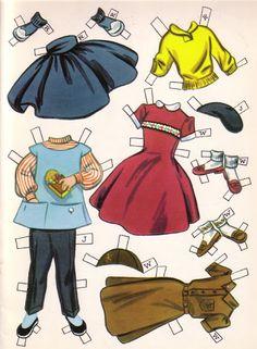 Paper Dolls~Dollies Go To School – Bonnie Jones – Webová alba Picasa