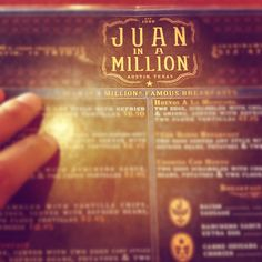 Juan in a Million in Austin, TX