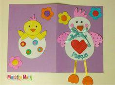 biglietto lavoretto di pasqua Art For Kids, Origami, Easter, Halloween, Creative, Easter Stuff, Easter Bunny, Party, Paper Crafts