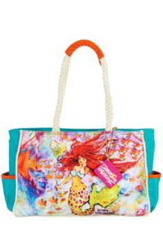 Leoma Lovegrove Leoma Mermaid Small Beach Bag