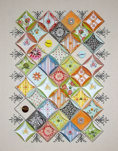 Picadilly by BasicGrey Sampler Canvas by During Quiet Time (Amy), via Flickr