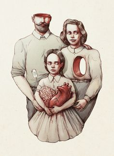 You have your father's brains and your mother's heart. Maria Tiurina.