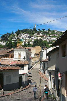 Quito old town, Ecuador