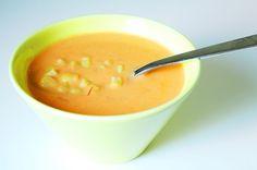 Minun ei ole yleensä vaikea keksiä, mitä tekisin ruoaksi seuraavaksi, sillä minun alkaa hyvin usein tehdä mieli jotakin tiettyä ainesosaa yl... Cantaloupe, Soup, Fruit, Ethnic Recipes, Soups