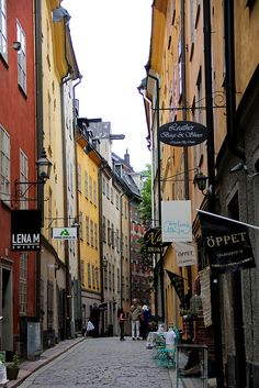 "Stockholm's Old Town ""Gamla Stan"""