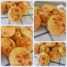 Sevdaninsokagi: Gougeres (Fransız Peynir Topları)