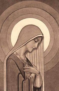 Maria virgen orante